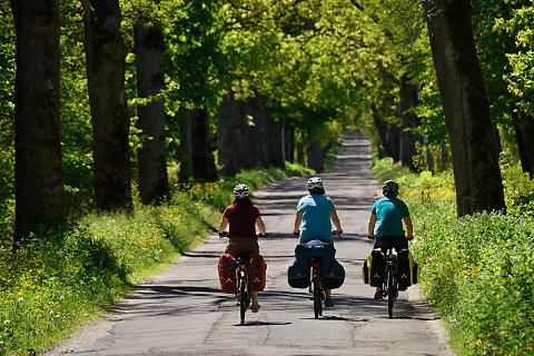 Ostseeradweg - Litauen, Russland , Polen