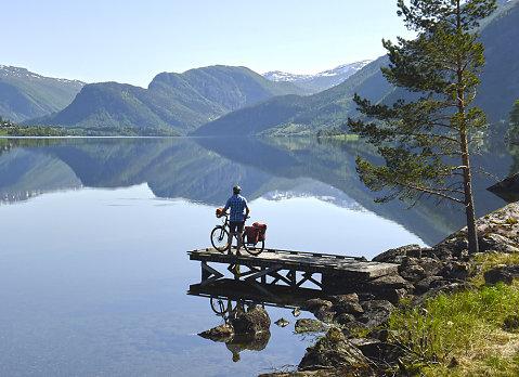 Fjordnorwegen - Fahrradtour Gaular
