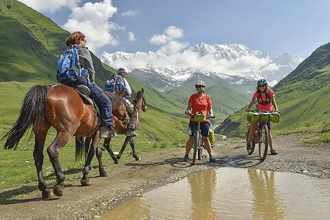 Georgien - Radfahren