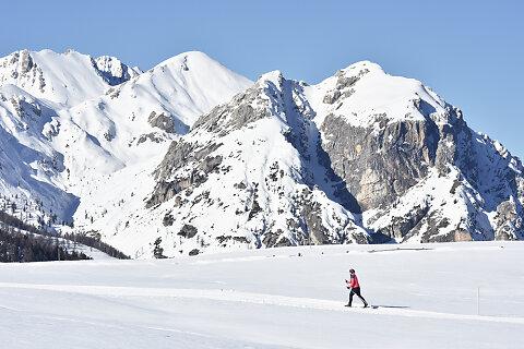 Langlaufen Dolomiten